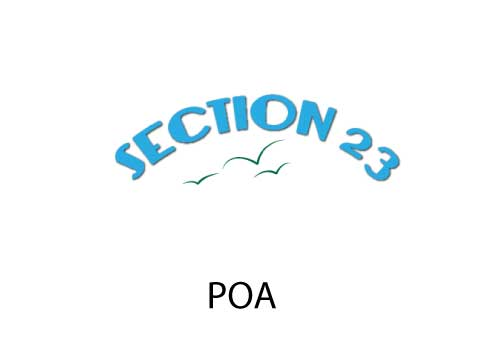 Section 23 POA Institute
